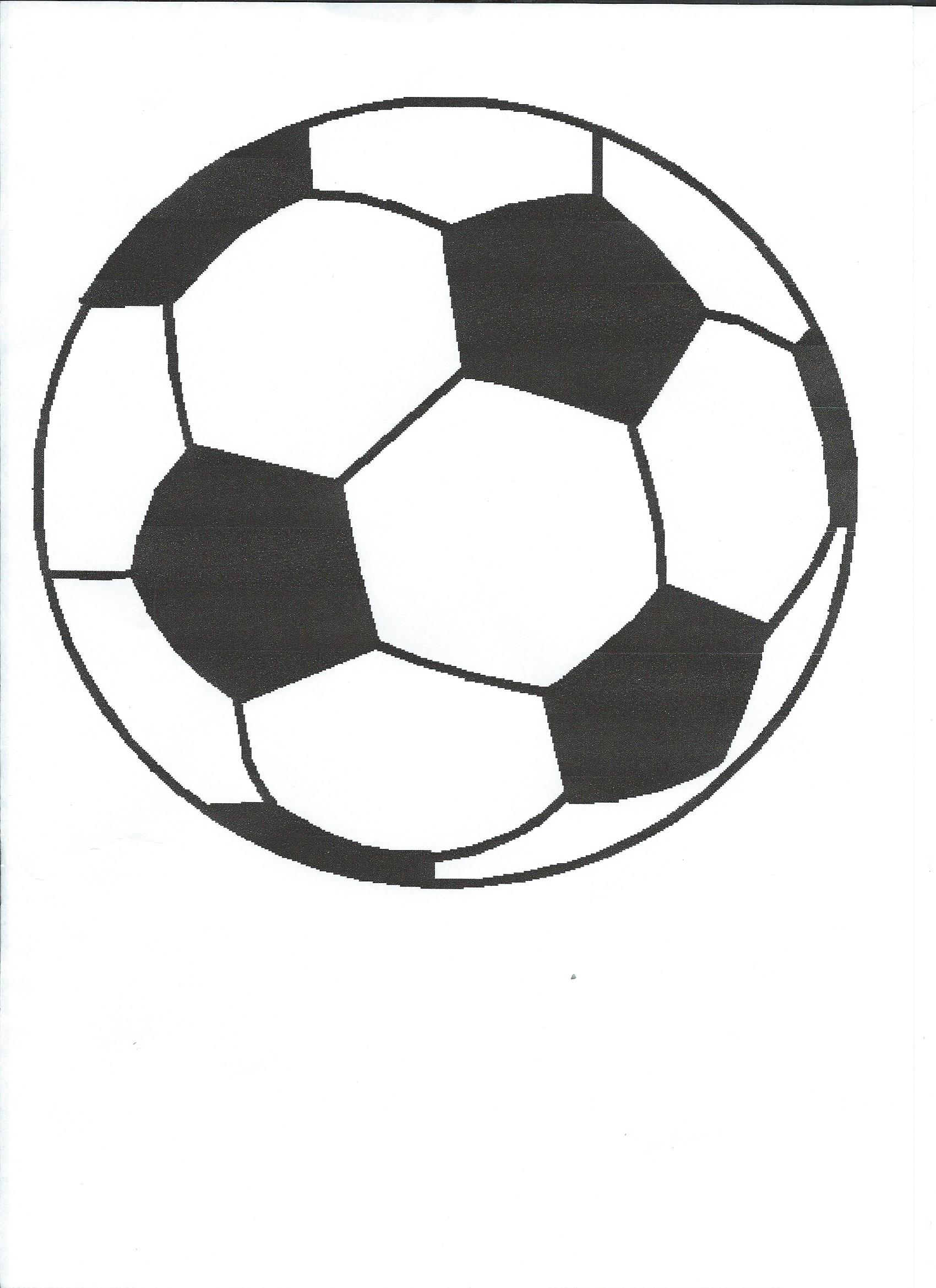 Dessin ballon de foot colorier les enfants - Coloriage ballon foot ...