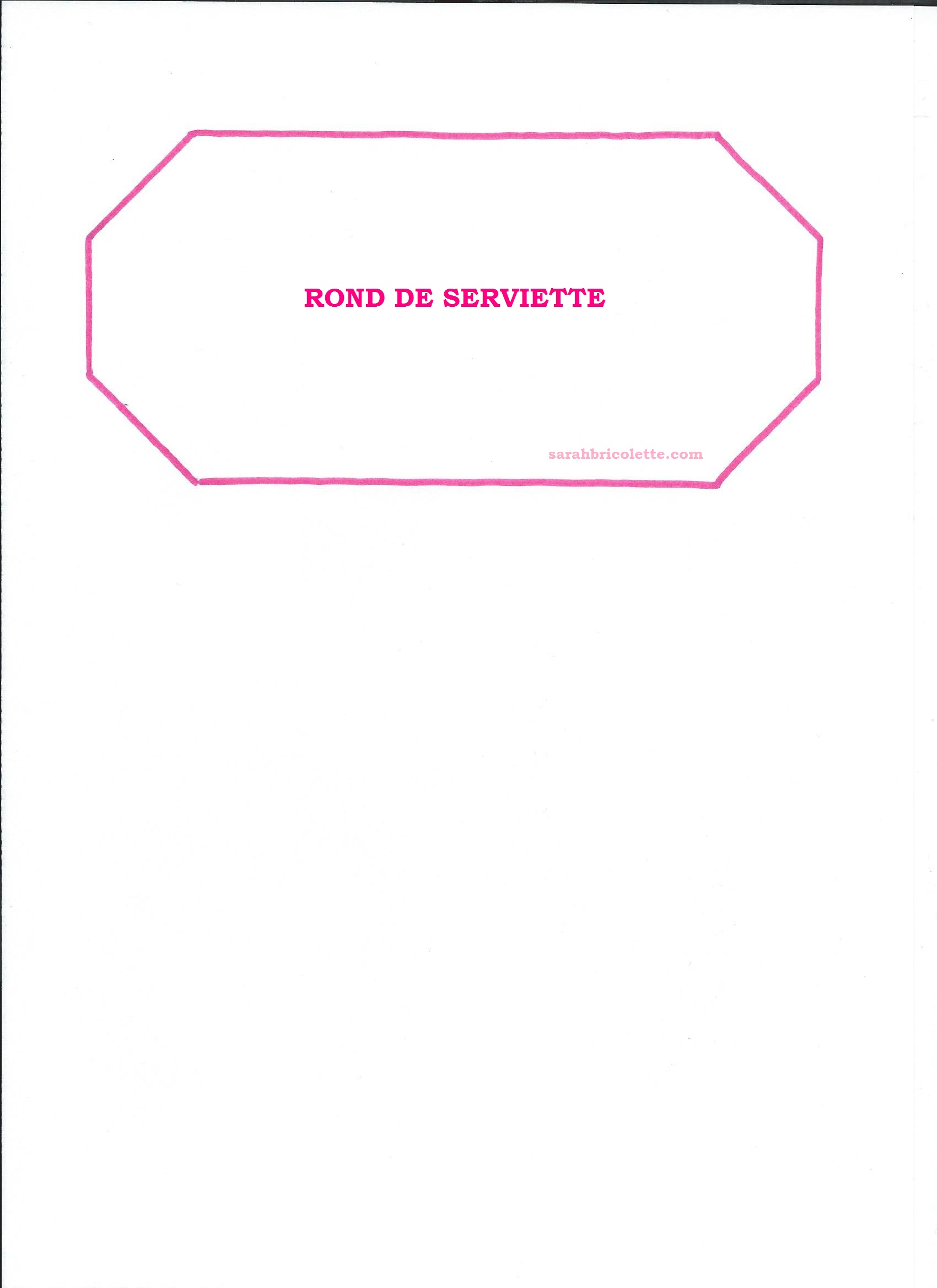Tuto ronds de serviette sarah bricolette for Rond de serviette maison