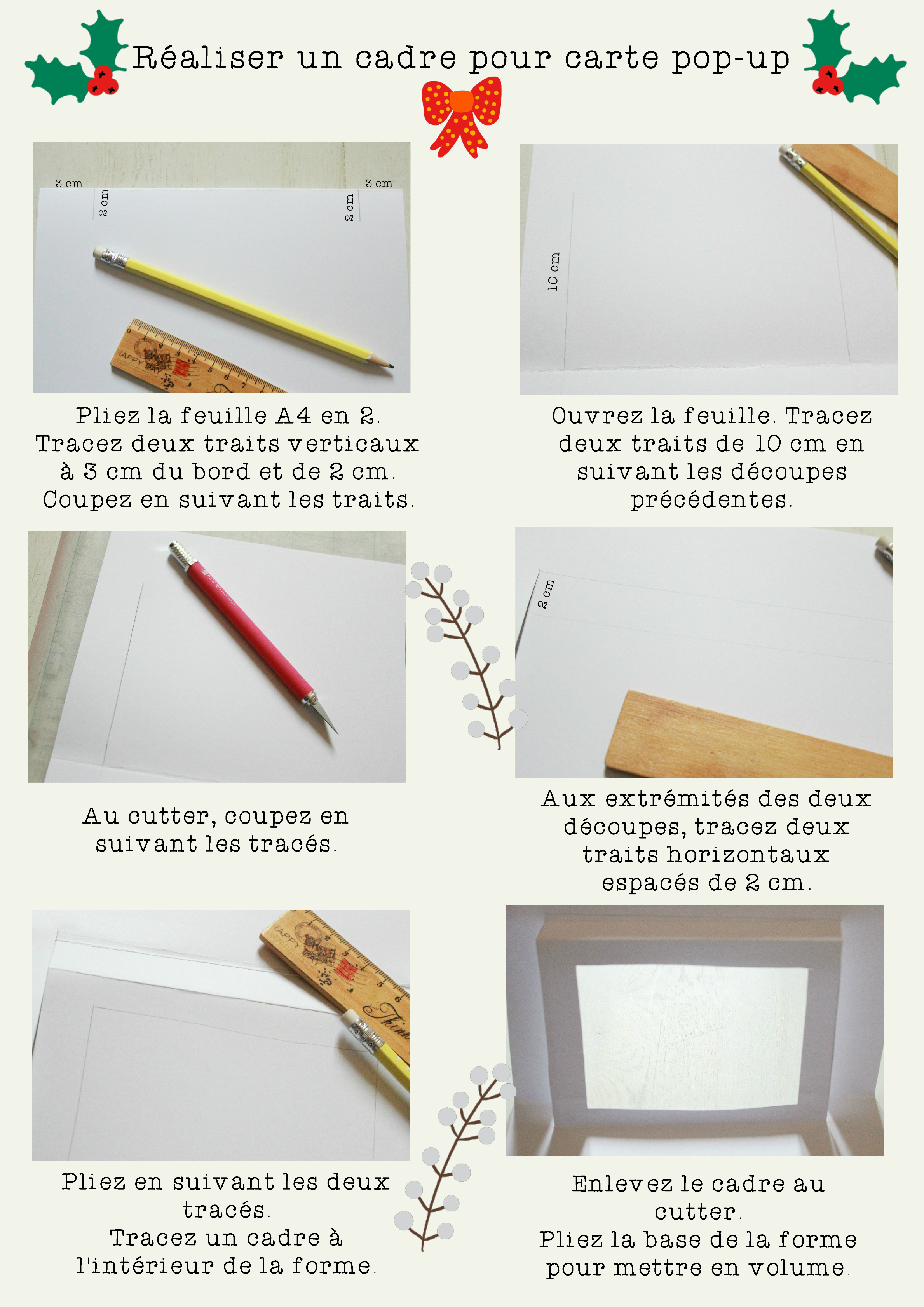 une carte pop up pour no l avec ses 10 ptits doigts blog diy. Black Bedroom Furniture Sets. Home Design Ideas