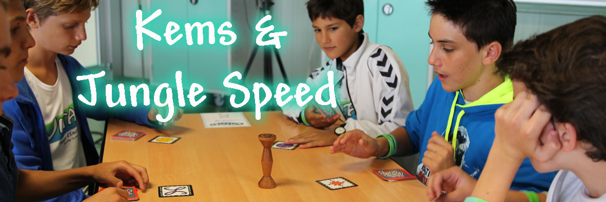 Nos tournois de Kems & Jungle Speed