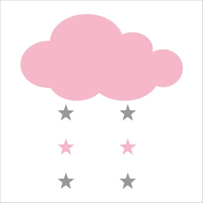 Deco dress me and my kids - Stickers nuage chambre bebe ...