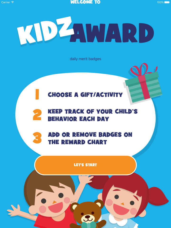 application_récompenser_enfants_bon_comportement_kidzaward