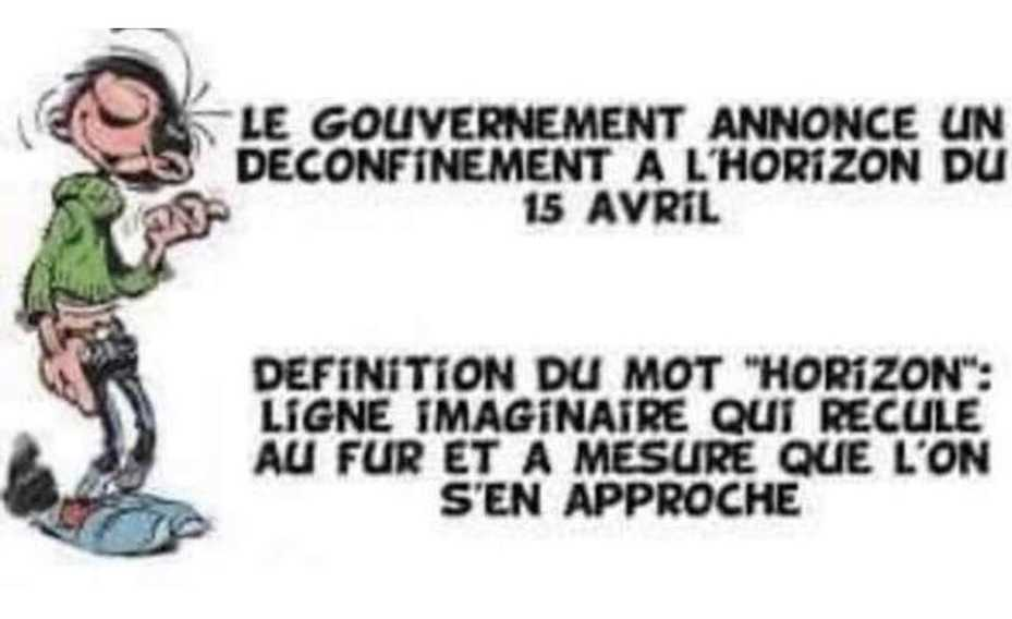 Humour Déconfinement: 1er avril 2021
